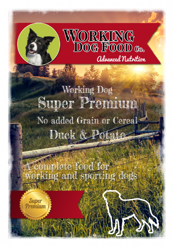 Super Premium Hypoallergenic Adult Duck & Potato, Complete Dry Dog Food (No added cereals or grains)